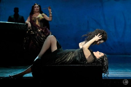 Patricia Racette as Salome (Photo: Ken Howard/LA Opera)