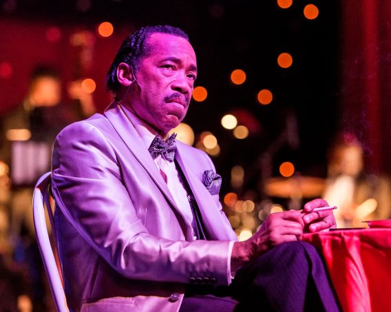"Obba Babatundé as ""Nomax."" Photo: Craig Schwartz."