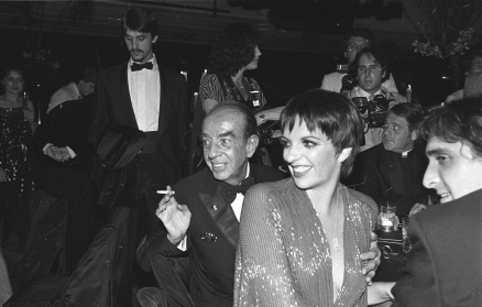 Vincente Minelli and Liza Minelli at Studio 54. Photo: Dustin Pittman.