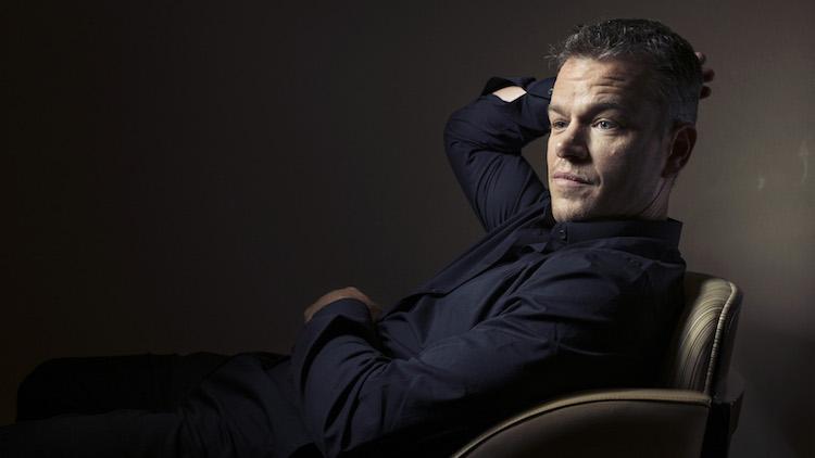 Interview: Matt Damon ...