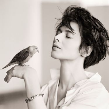 Isabella Rossellini, Bird, New York, 1988