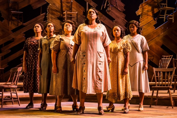 Carrie Compere as Sofia in The Color Purple