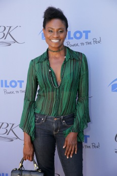 BEVERLY HILLS, CA - SEPTEMBER 14: Adina Porter attends Pilot Pen & GBK Celebration Lounge - Day 1 at LÕErmitage on September 14, 2018 in Beverly Hills, California (Photo by Rebecca Sapp/Getty Images for GBK Productions)