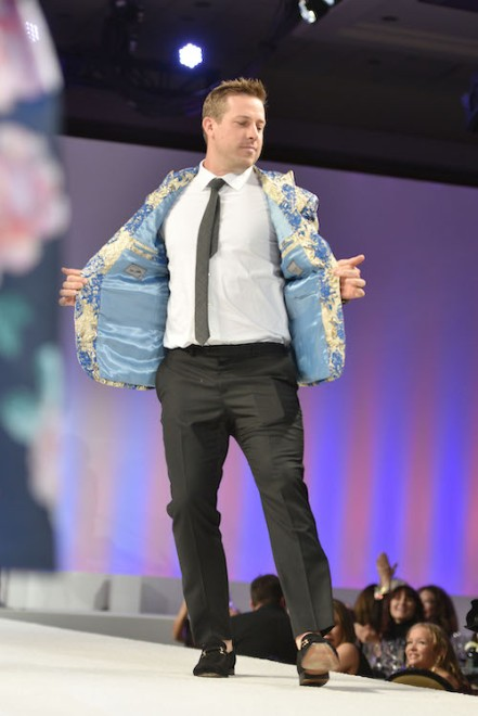 Denver Bronoco quaterback Case Keenum at the Global Down Syndrome Foundation 10th anniversary BBBY fashion show at Sheraton Denver Downtown Hotel on October 20, 2018 in Denver, Colorado. (Photo by Tom Cooper/Getty Images for Global Down Syndrome Foundation)