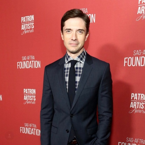 Topher Grace arrives at the SAG-AFTRA Foundation Patron of the Artists Awards. Photo: Courtesy of SAG-AFTRA Foundation.