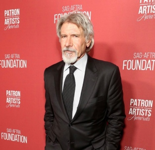 Harrison Ford arrives at the SAG-AFTRA Foundation Patron of the Artists Awards. Photo: Courtesy of SAG-AFTRA Foundation.