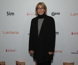 Carol Mendelsohn arrives at the Lantana Holiday Party. Photo: Brian To