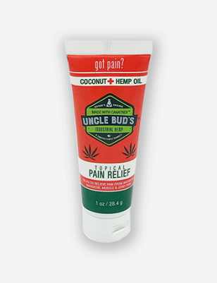 Uncle Bud's Topical Pain Relief with Coconut and Hemp