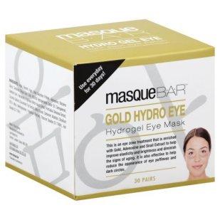 MasqueBar Gold Hydrogel Eye Mask