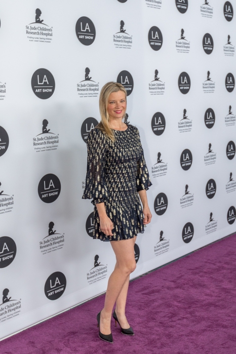 Amy Smart at LA Art Show Gala 2019. Photo: Birdman