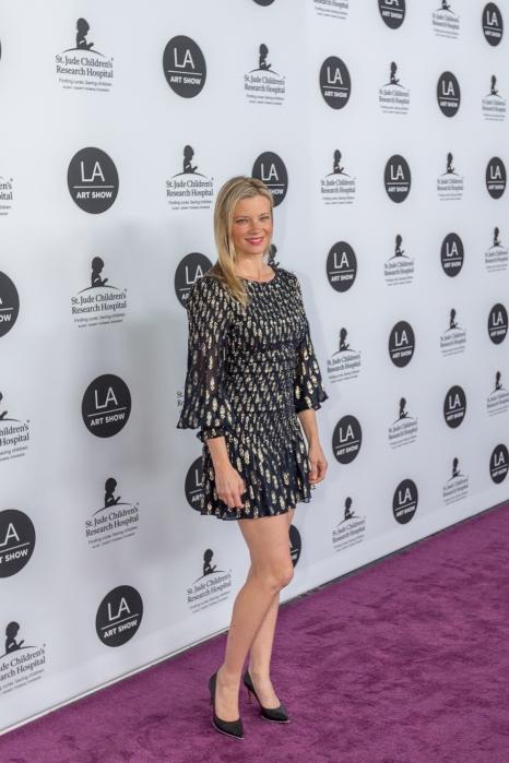 Amy Smart at LA Art Show Gala 2019. Photo: Birdman