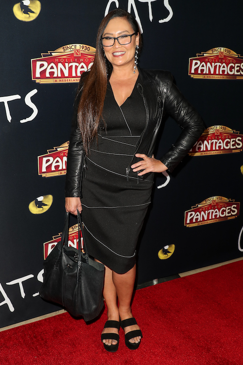 Tia Carrere attends 'Cats' opening night, Pantages Theatre, Los Angeles, USA