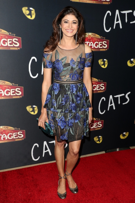 Pooja Batra attends 'Cats' opening night, Pantages Theatre, Los Angeles, USA