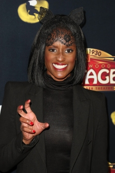 Skye P. Marshall attends 'Cats' opening night, Pantages Theatre, Los Angeles, USA