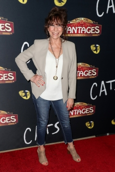 Mindy Sterling attends 'Cats' opening night, Pantages Theatre, Los Angeles, USA