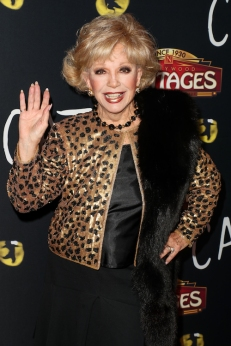Ruta Lee attends 'Cats' opening night, Pantages Theatre, Los Angeles, USA