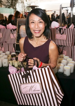 Kheng Hua Tan with Melina's Boutique