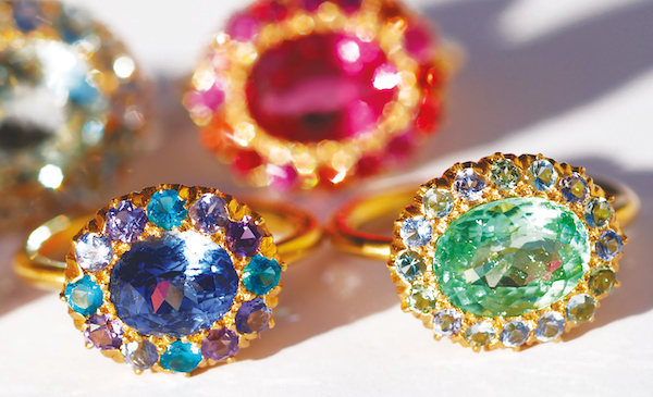 Princess D rings- Gold And Gems The Jewels of Marie Helene DeTaillac (Rizzoli)