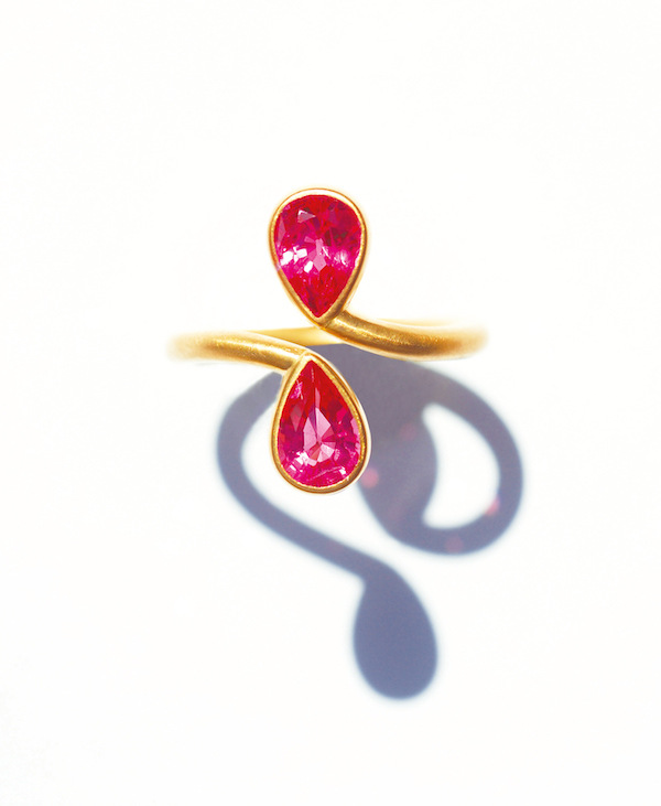 Toi et Moi ring - Gold And Gems The Jewels of Marie Helene DeTaillac (Rizzoli)