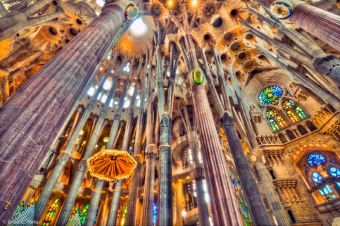 Sagrada Familia interior