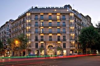 Axel Hotel Barcelona exterior.